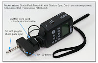 CP1085: PW Studio Pack Mount #1 with Custom Sync Cord