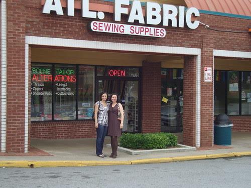 Next stop:  Atlanta Fabric