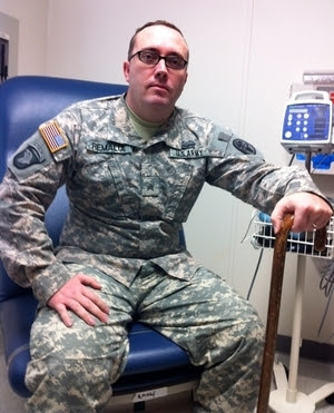 Sgt. Rick Remalia is familiar with pain. He broke his back, hip and pelvis in Afghanistan. Remalia says acupuncture is the first treatment that has really made a difference.