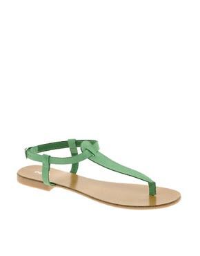 Image 1 ofOasis Plain Toe Post Sandals