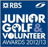RBS Junior Golf & Volunteer Awards logo