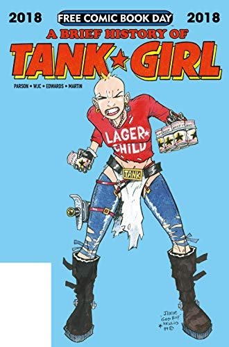 Jamie Hewlett Tank Girl Comic