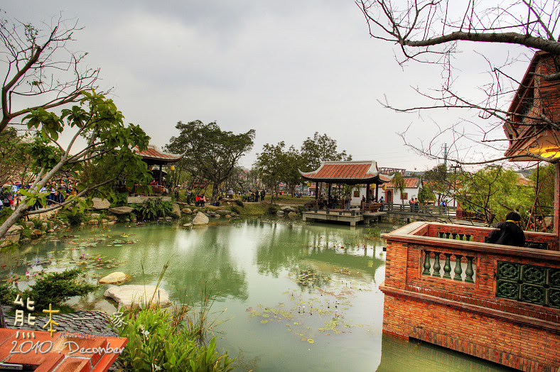 林安泰古厝|花茶殿|閩式庭園