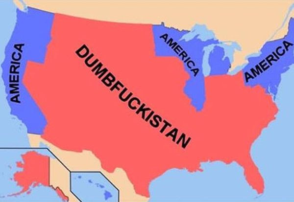 I reckon Dumbfuckistan's capital is somewhere in its penis (a.k.a. Florida).