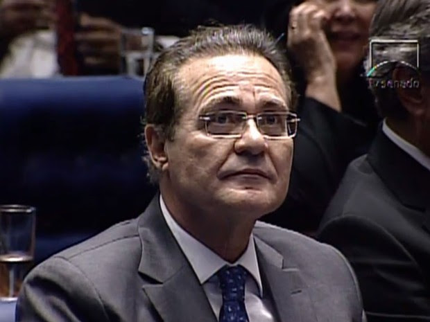 O atual presidente do Senado, o senador Renan Calheiros (PMDB-AL) tenta a reeleição (Foto: Reprodução/TV Câmara)