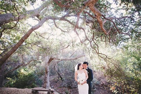 Oak Canyon Nature Center Wedding in Anaheim   Los Angeles