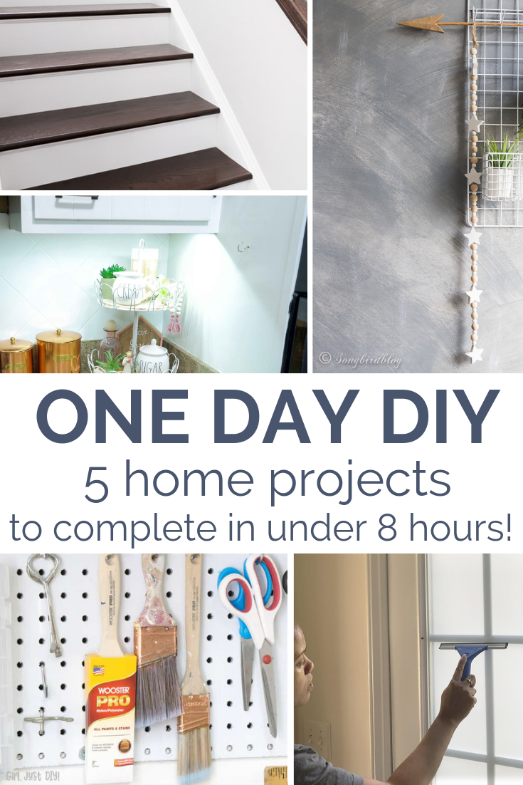 One Day DIY: Easy Home Improvement Projects That Get You Quick