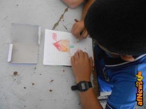 """Restare """"umani"""" nonostante la guerra: ce lo insegnano i disegni dei bambini di Gaza"""