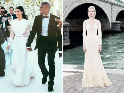 kim kardashian givenchy wedding dress   Google Search