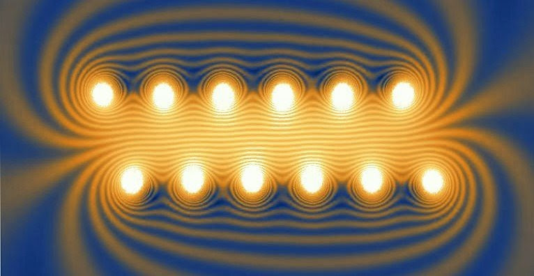 Magnetic Field Lines Surrounding Energized Solenoid