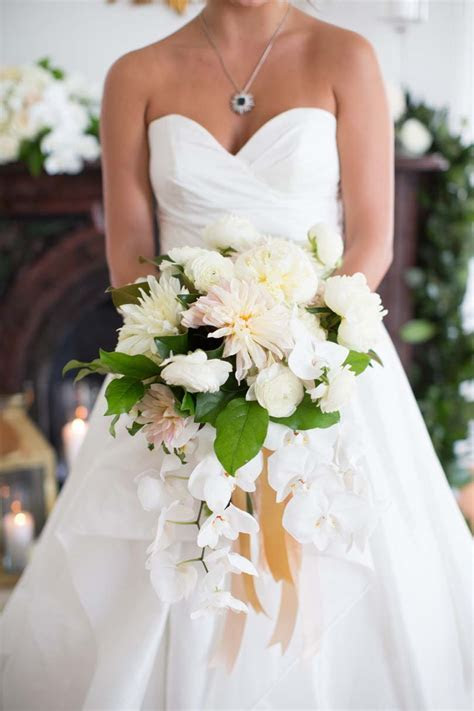 Mixed Golds and Blush Wedding Florals   Southern Bride and