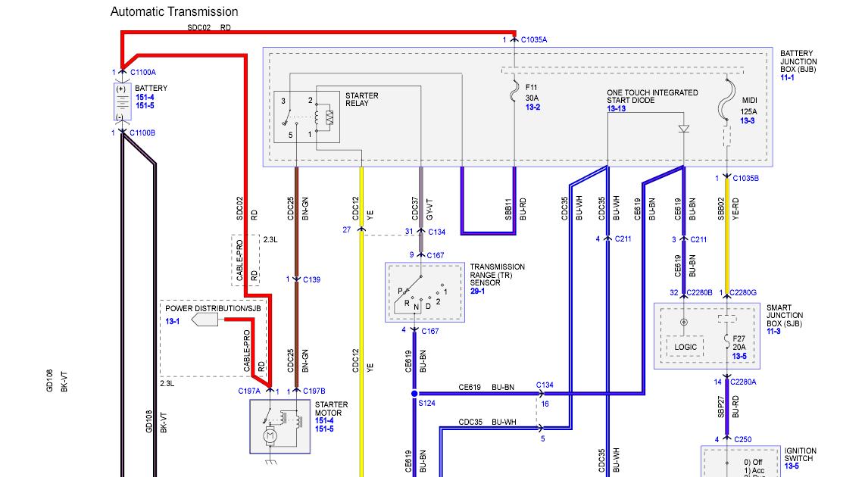 2011 Ford Escape Rear Wiper Wiring Diagram