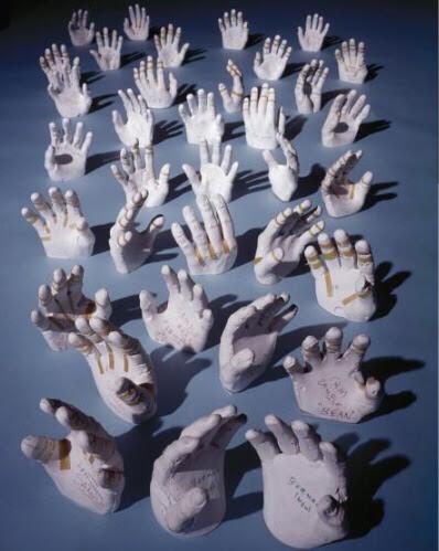 Apollo Crew Hand Molds