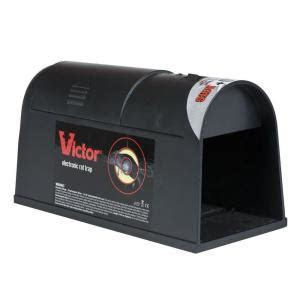 Victor Electronic Rat Trap M240   The Home Depot