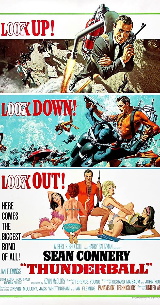 Thunderball 1965 Movie