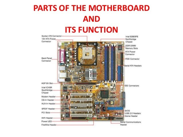 31 Parts Of Motherboard With Label - Label Design Ideas 2020