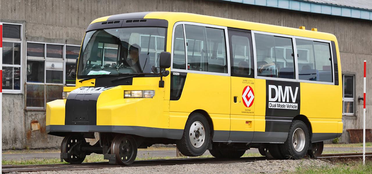 DMV - JR 北海道的公路鐵路兩用車