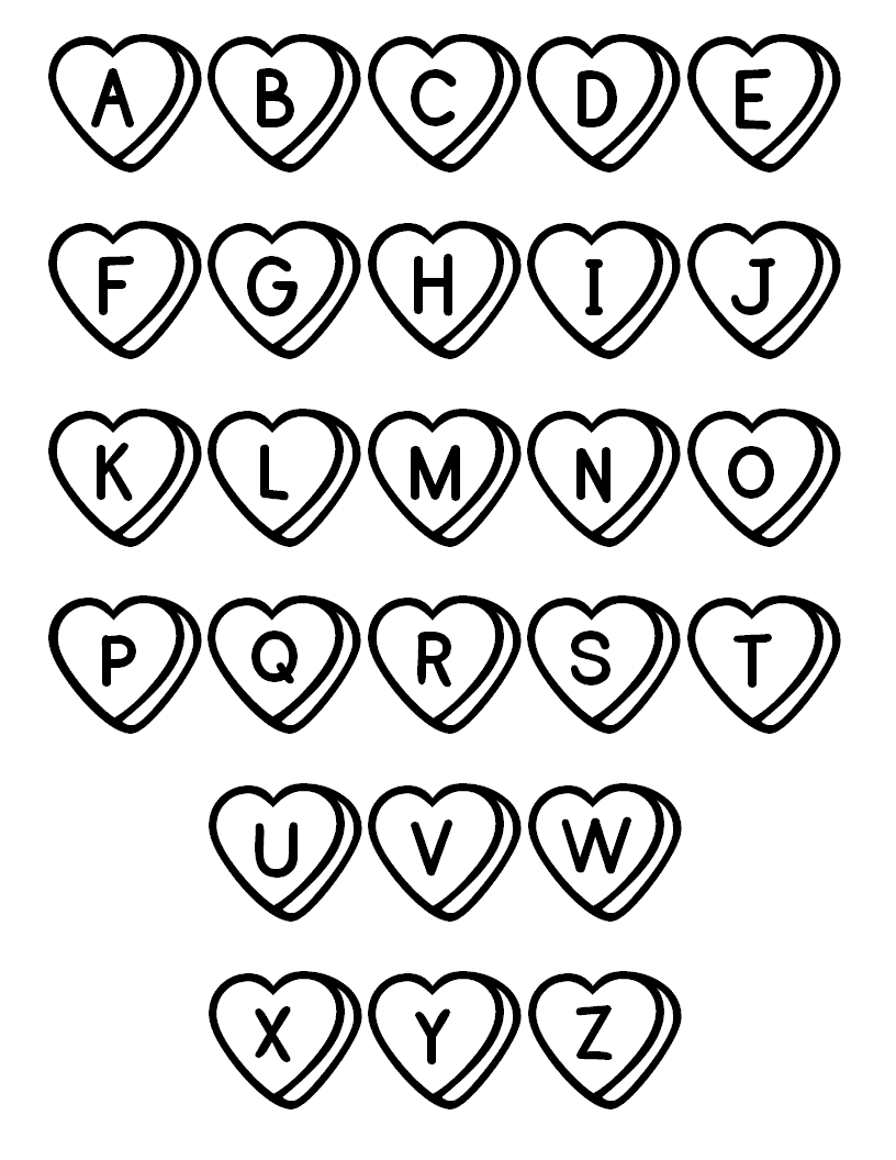 95 Dltk Alphabet Coloring Pages Download Free Images