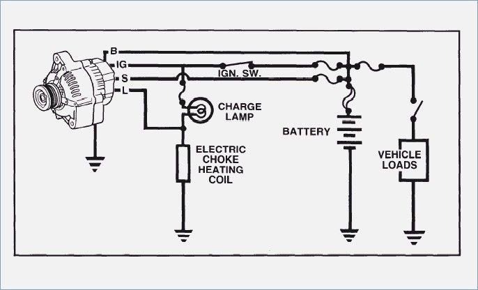1999 Ford F 250 Alternator Wiring Diagram | schematic and ...
