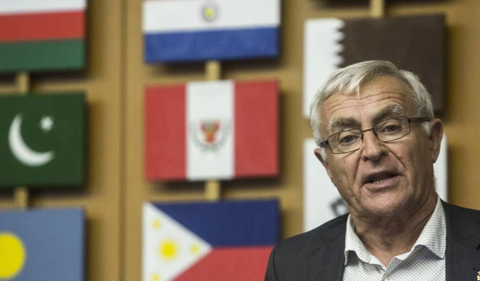 Joan Ribó, en la sede de la FAO en Roma.