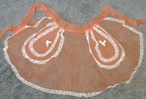 sheer hostess apron