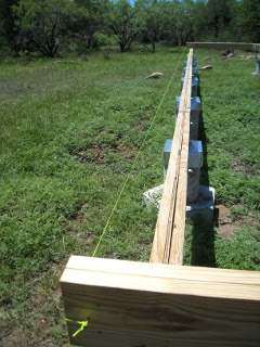 House Floor Outer Joists with Header String
