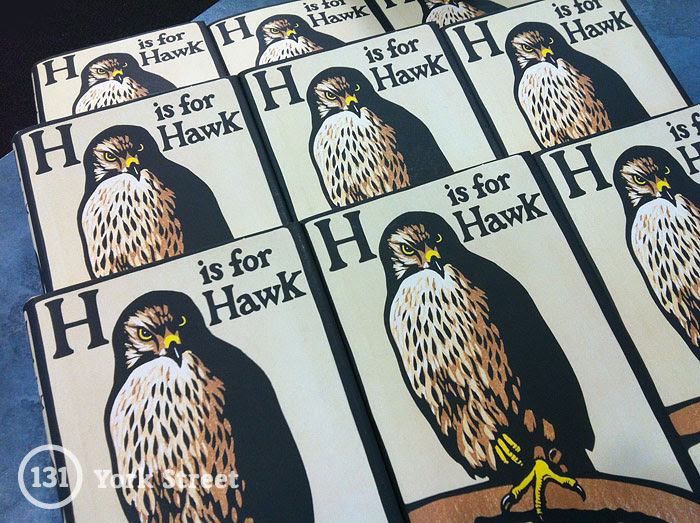 H is for Hawk by Helen Macdonald at Abbey's Bookshop, 131 York Street, Sydney