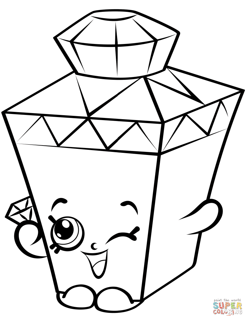Shopkins Coloring Pages Season 7 At Getdrawingscom Free For
