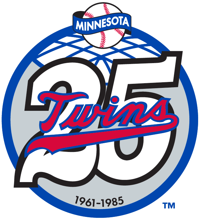 Minnesota Twins Anniversary Logo - American League (AL ...