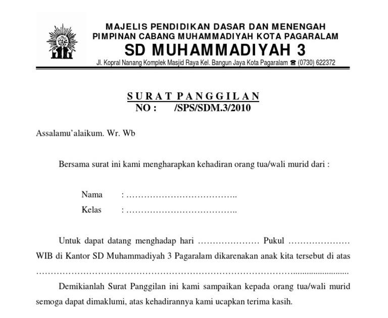 Contoh Surat Pernyataan Orang Tua Siswa Bermasalah Doc ...