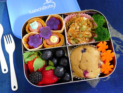 LunchBots Quad for TinySprite Bento by sherimiya ♥