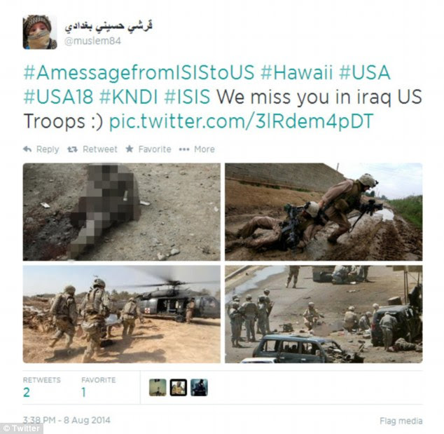 Casualties memorialized online: ISIS has turned to Twitter as a propaganda tool