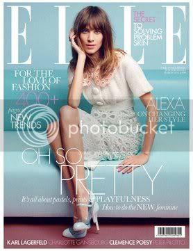Elle UK March 2012