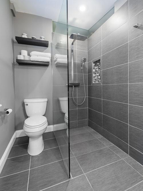 Small Ensuite Bathroom Design Ideas, Renovations & Photos