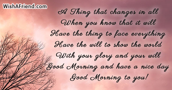Good Morning Message Forget All Your Worries And Sorrow Leave
