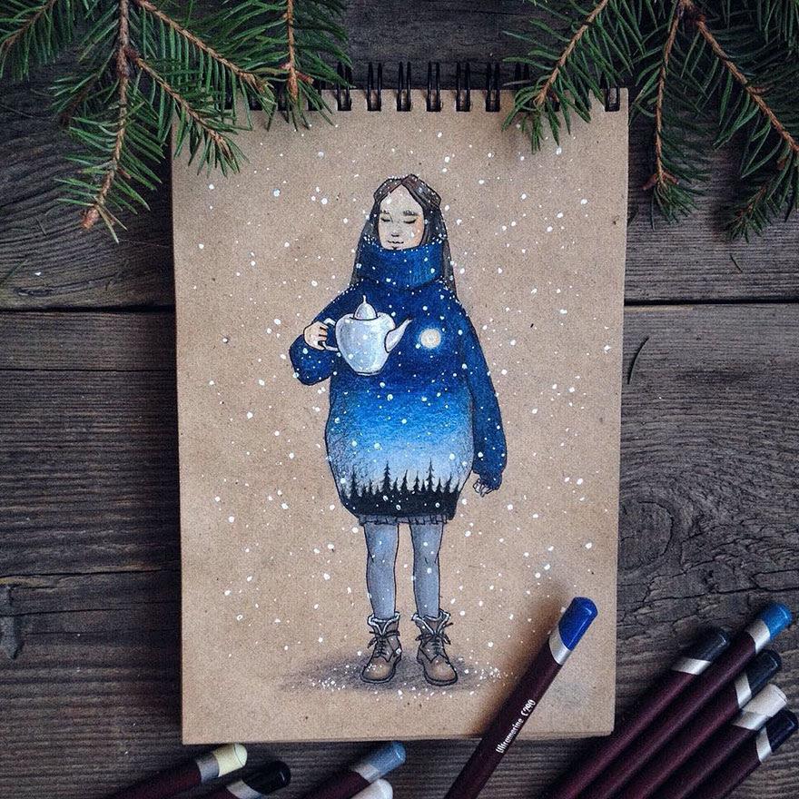 ilustraciones-cuentos-hadas-lapices-colores-lia-selina (21)