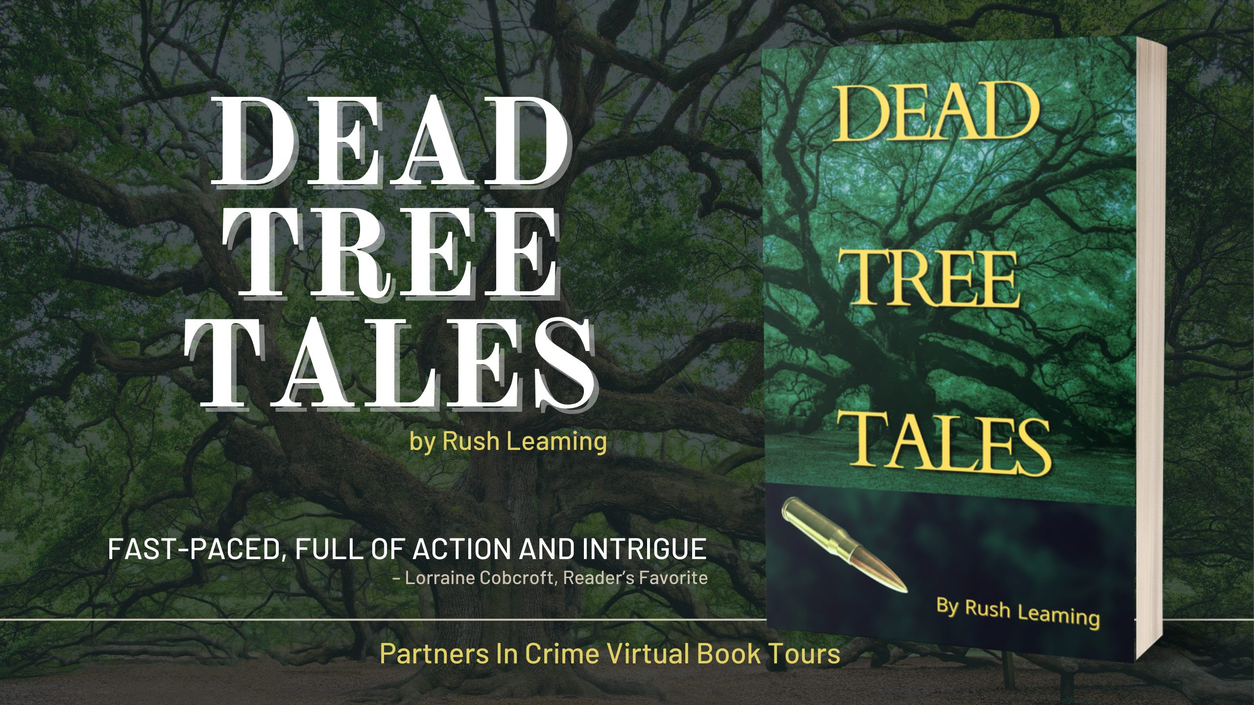 Dead Tree Tales by Rush Leaming Banner
