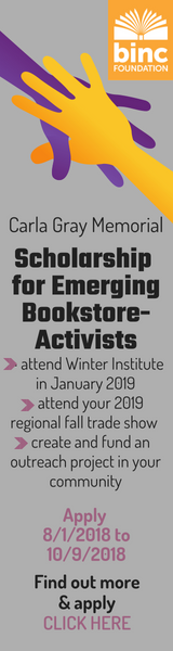 Carla Gray Memorial Scholarship for Emerging Bookseller-Activists