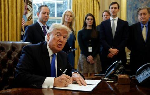 Risultati immagini per trump administration