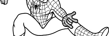 Free Printable Coloring Sheet Spiderman Coloring Pages
