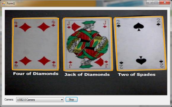 Qt blackjack example