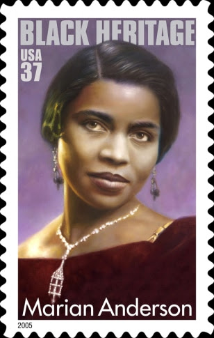 New Stamp Honors Marian Anderson Us News Life Race Ethnicity