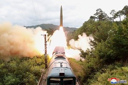 В КНДР раскрыли цель запусков баллистических ракет
