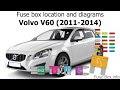 Volvo V 60 2014 User Wiring Diagram