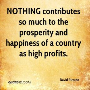 Image result for david ricardo quotes