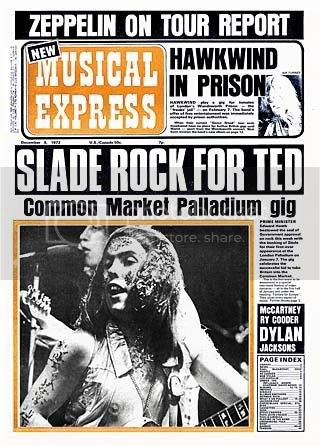 Slade,Palladium,1972,Rock For Ted