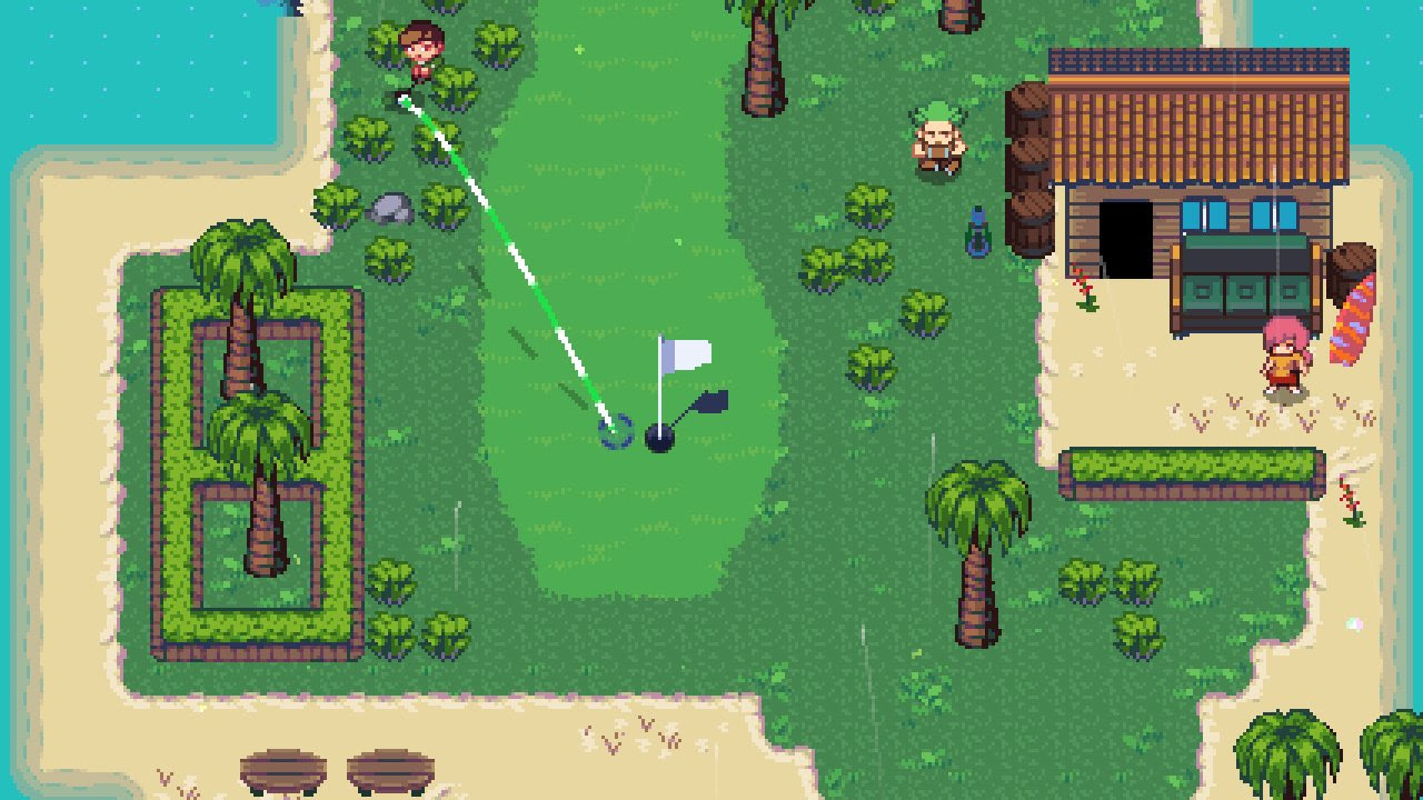 Golf Story could be the RPG-style golf game we've been waiting for screenshot