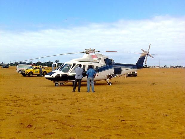 Helicóptero Macaé (Foto: Cadu Alves/Divulgação)