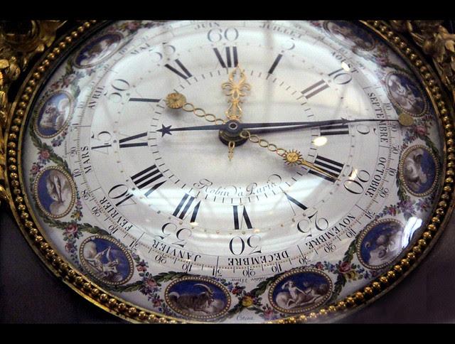 Timepiece, by Robert Robin, c. 1780