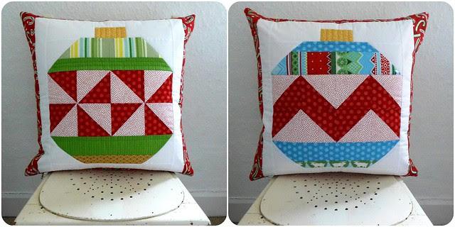 Brit Bee Secret Santa Cushion for Susan Dec13